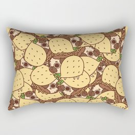 Puglie Taco Rectangular Pillow