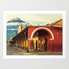 Antigua, Guatemala Art Print