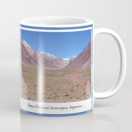 Mountain views near Aconcagua, Argentina Coffee Mug
