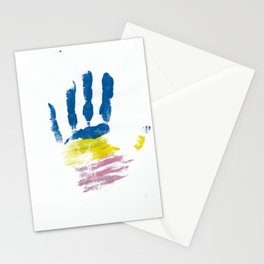 Pansexual Hand Stationery Cards