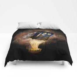 Fantastic Tardis Doctor Who Mashup with Fantastic Bag Comforters