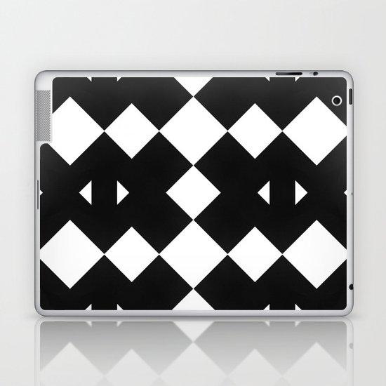 Branting Black & White Pattern Laptop & iPad Skin