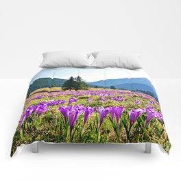 Spring in the Mountains Comforters