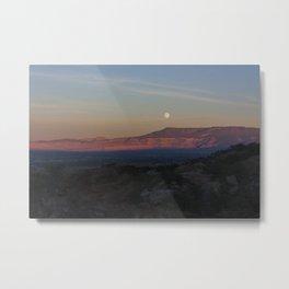 Moon Rise on High Noon 2.0 Metal Print
