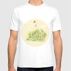 Greenhouse Mens Fitted Tee White SMALL