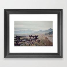 Antelope Island Framed Art Print