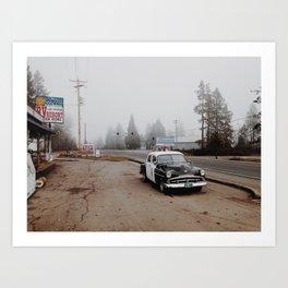 Kerby, Oregon Art Print