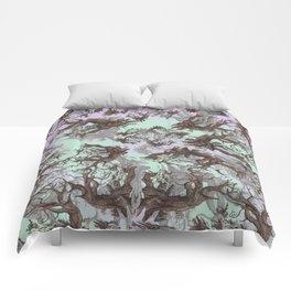 ANCIENT PINE SNAG VINTAGE PEN DRAWING Comforters