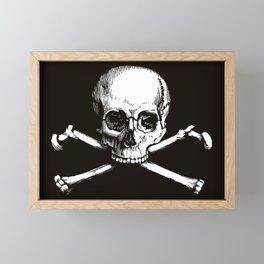Skull and Crossbones | Jolly Roger Framed Mini Art Print