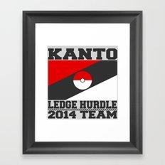 Kanto Ledge Hurdling Team Framed Art Print