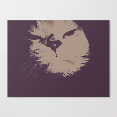 Renegade Cat Canvas Print