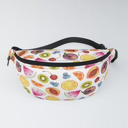 Watercolor Fruit Painting Fanny Pack