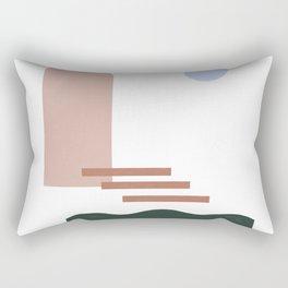 the front door Rectangular Pillow
