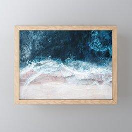 Blue Sea II Framed Mini Art Print