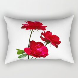 Roses are red, really red! Rectangular Pillow