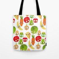 food Tote Bags featuring Food by Peerro