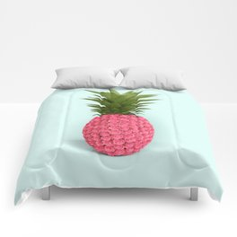 PINEAPPLE ROSES Comforters