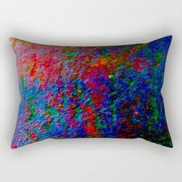 Vibrant Metal Rectangular Pillow