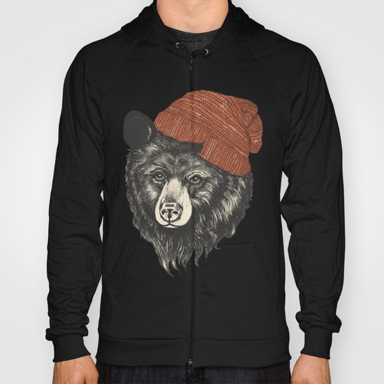 zissou the bear Hoody