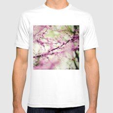 Into a Dream MEDIUM White Mens Fitted Tee