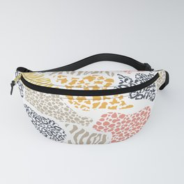 Crazy Shapes Fanny Pack