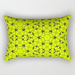 Summer Molecules Pattern Rectangular Pillow