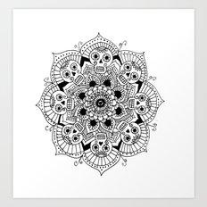 mandalavera Art Print