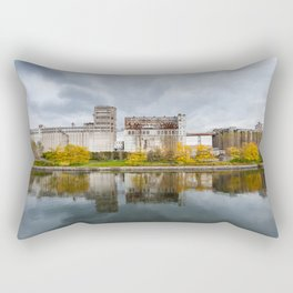 The old factory Rectangular Pillow