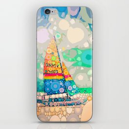 Siesta Key, FL - Sailing iPhone Skin