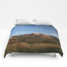 The majesty of the mountains at Catalina State Park IV Comforters