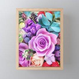 Romantic garden III Framed Mini Art Print