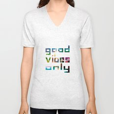 good vibes only // Coachella Unisex V-Neck