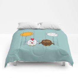 Early Bird & Night Owl Comforters