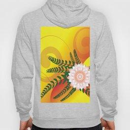 FLOWER Abstract Art Hoody