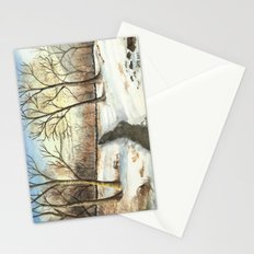 Snowy Forest Stationery Cards