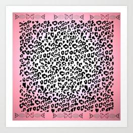 LeopardSeaFish Art Print
