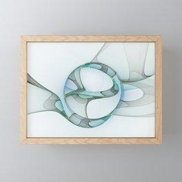 Minimalist Abstract, Fractals Art Framed Mini Art Print