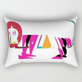 David Nuh Omar's Lion (LION) Rectangular Pillow