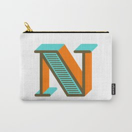 Letter N Carry-All Pouch