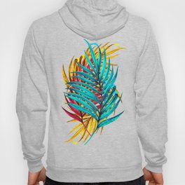 Colorful Palm Leaves Hoody