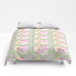 WATERCOLOUR GREEN Comforters
