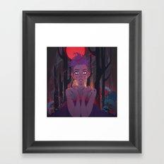 The Memory part IV: Darkfall Framed Art Print
