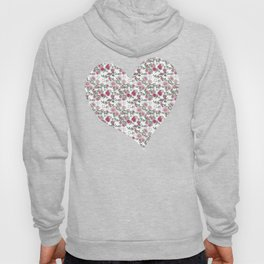 Project 52 | Pale Roses on White Hoody
