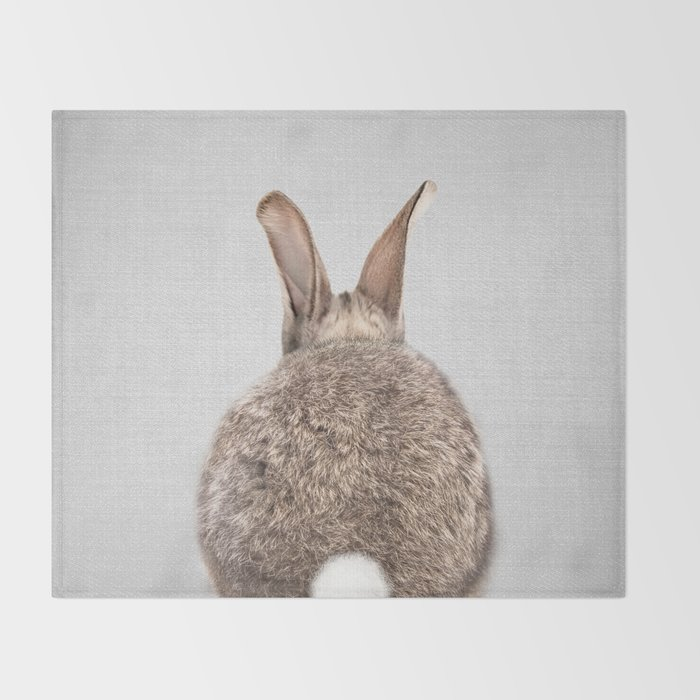 Rabbit Tail - Colorful Throw Blanket