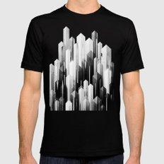 obelisk posture 3 (monochrome series) Black MEDIUM Mens Fitted Tee
