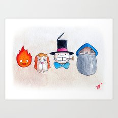 Make the Unlikeliest of Friends, Wherever You Go 3 Art Print