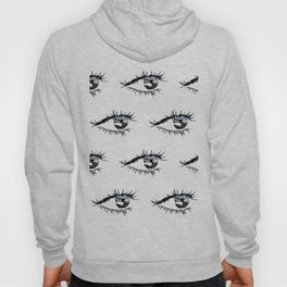Eye Print Hoody