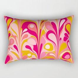 Retro Celebration Rectangular Pillow