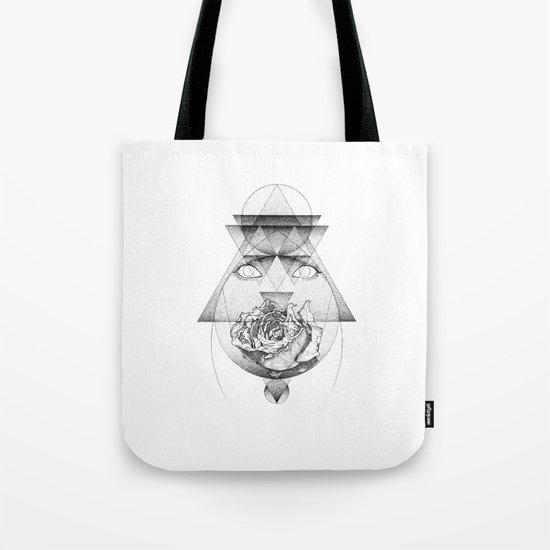 Lupine Rosaceae Tote Bag