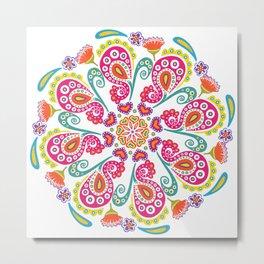 """""""Carousel Of Love"""" No.1   Mandala Design Metal Print"""
